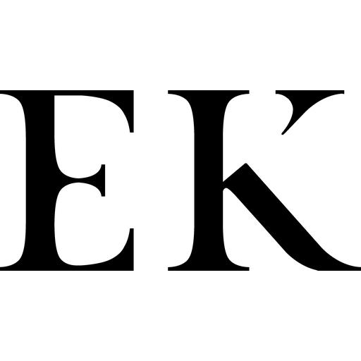 logo EK noir