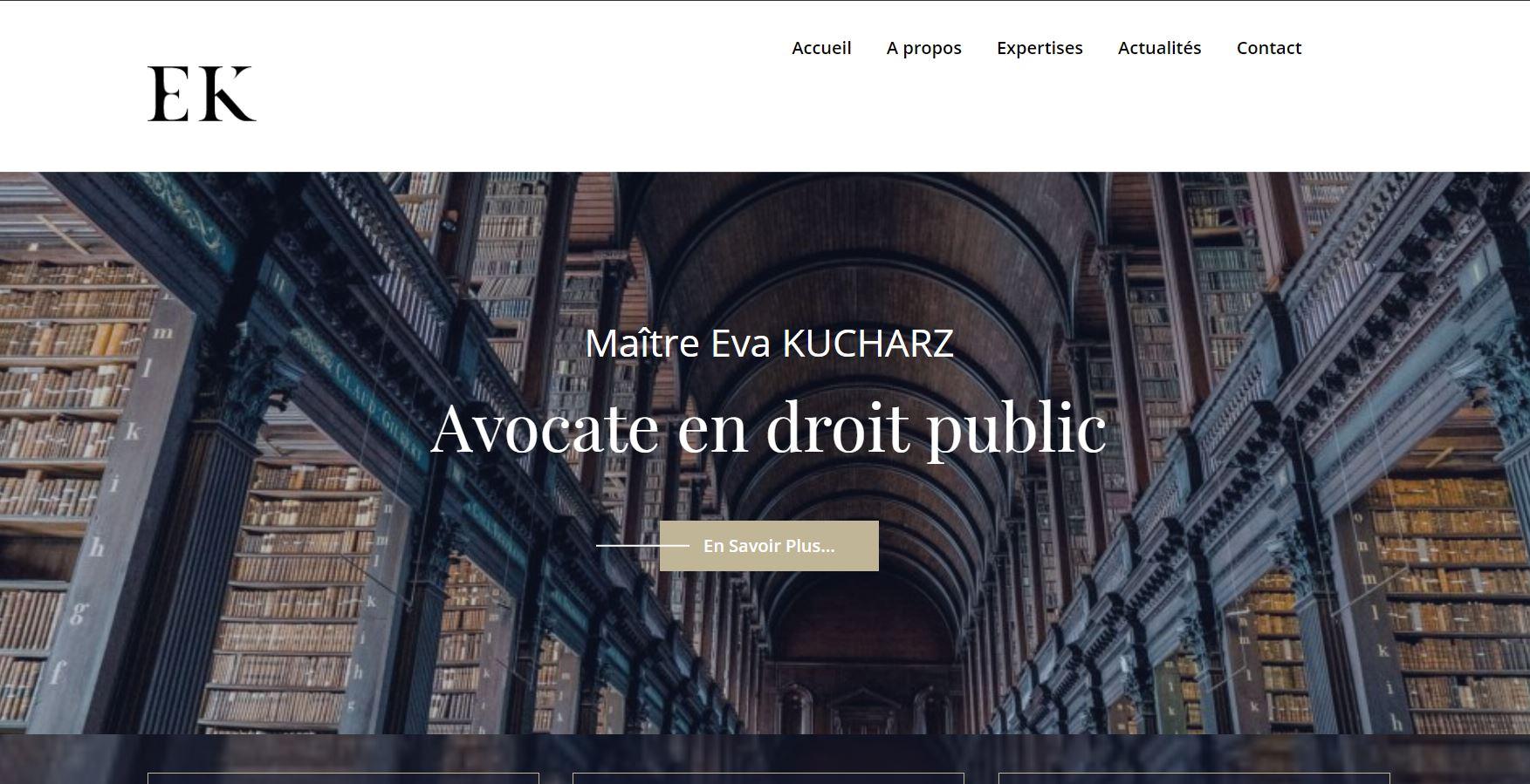 site internet eva kucharz avocat